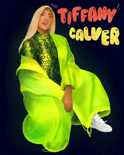 GIF of Tiffany Calver by Gabriella Mussurakis