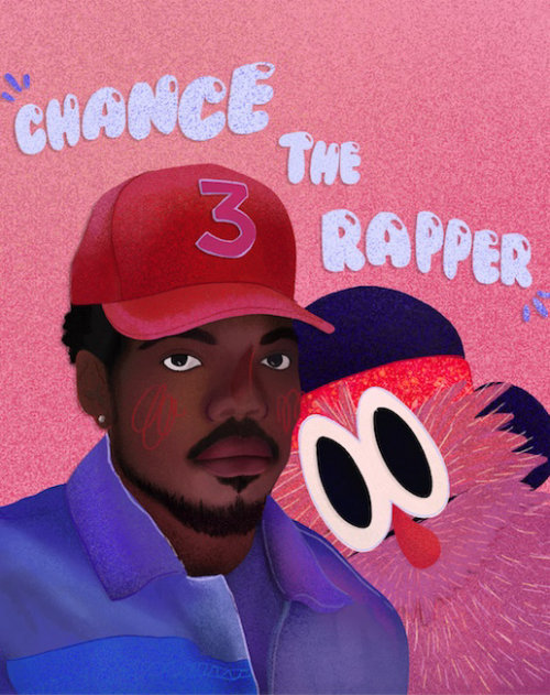 GIF of chance the rapper