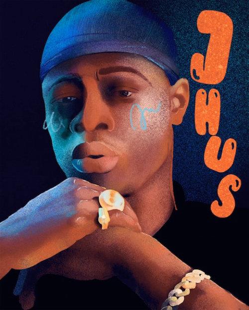 GIF de J Hus Singer