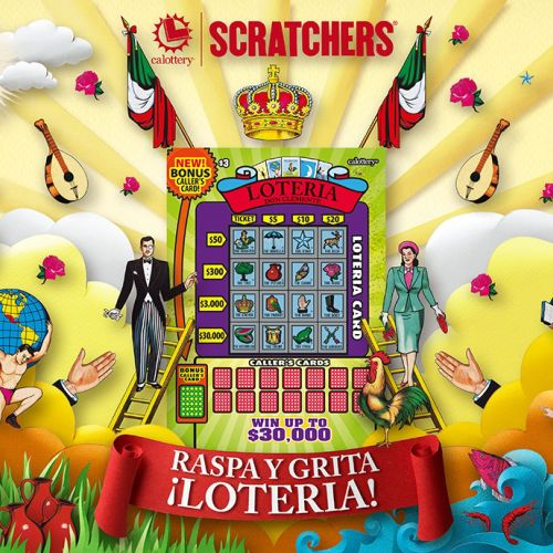 Lottery scratch card characters by gail armstrong