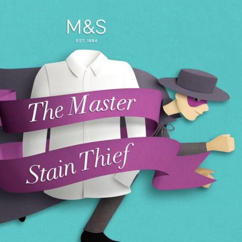 Animated clip of M&S School - The Master Stain Thief