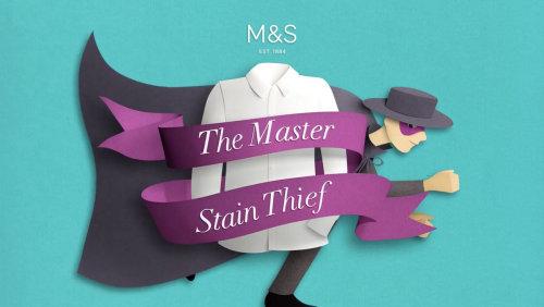 Clip animado de M&S School - The Master Stain Thief