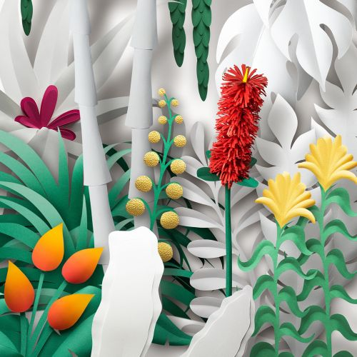 Gail Armstrong Internationaler Illustrator für Papierskulpturen. London