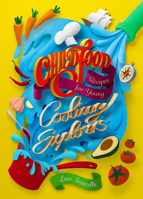 Lettering child food