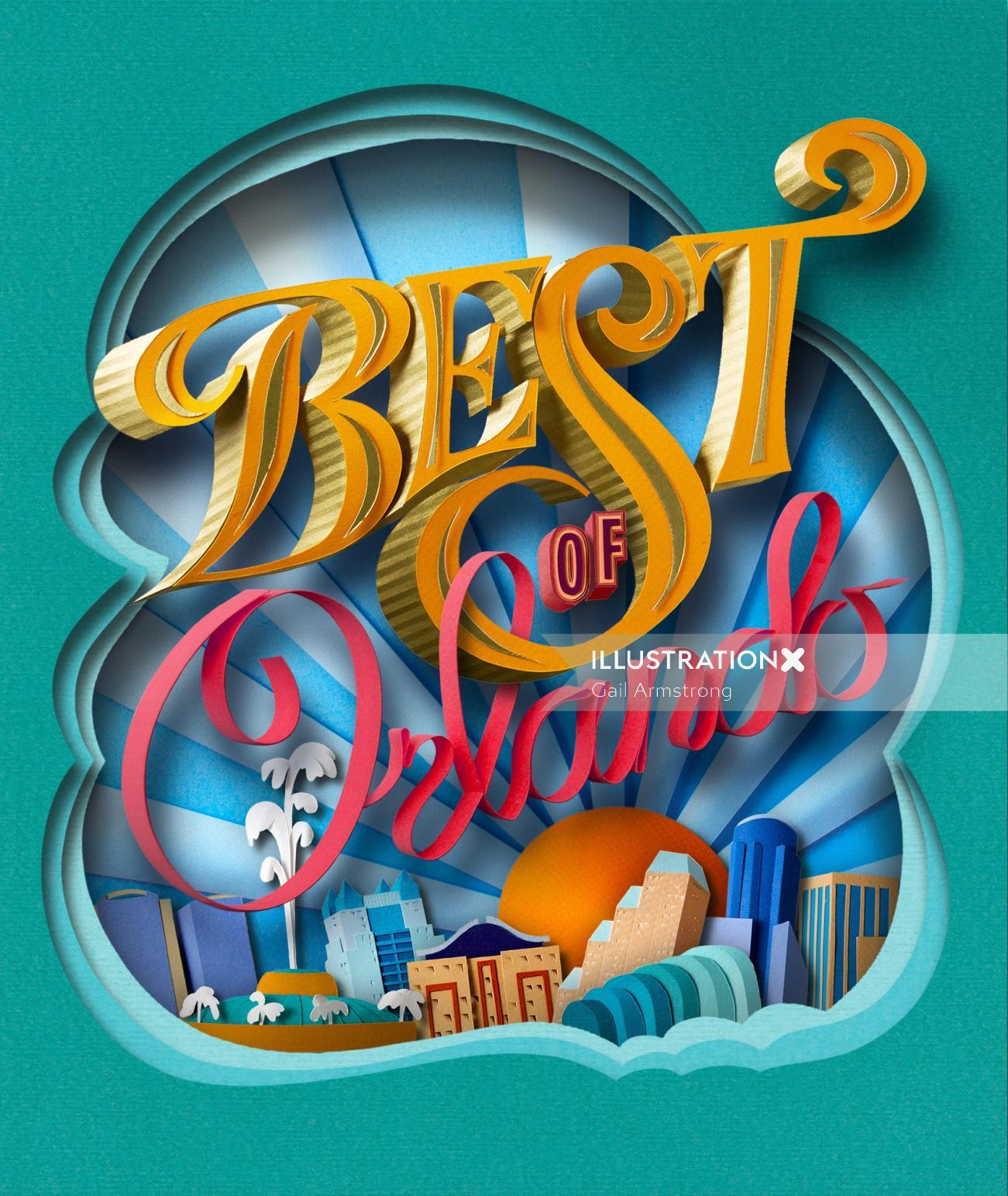 Typography Best of Orlando