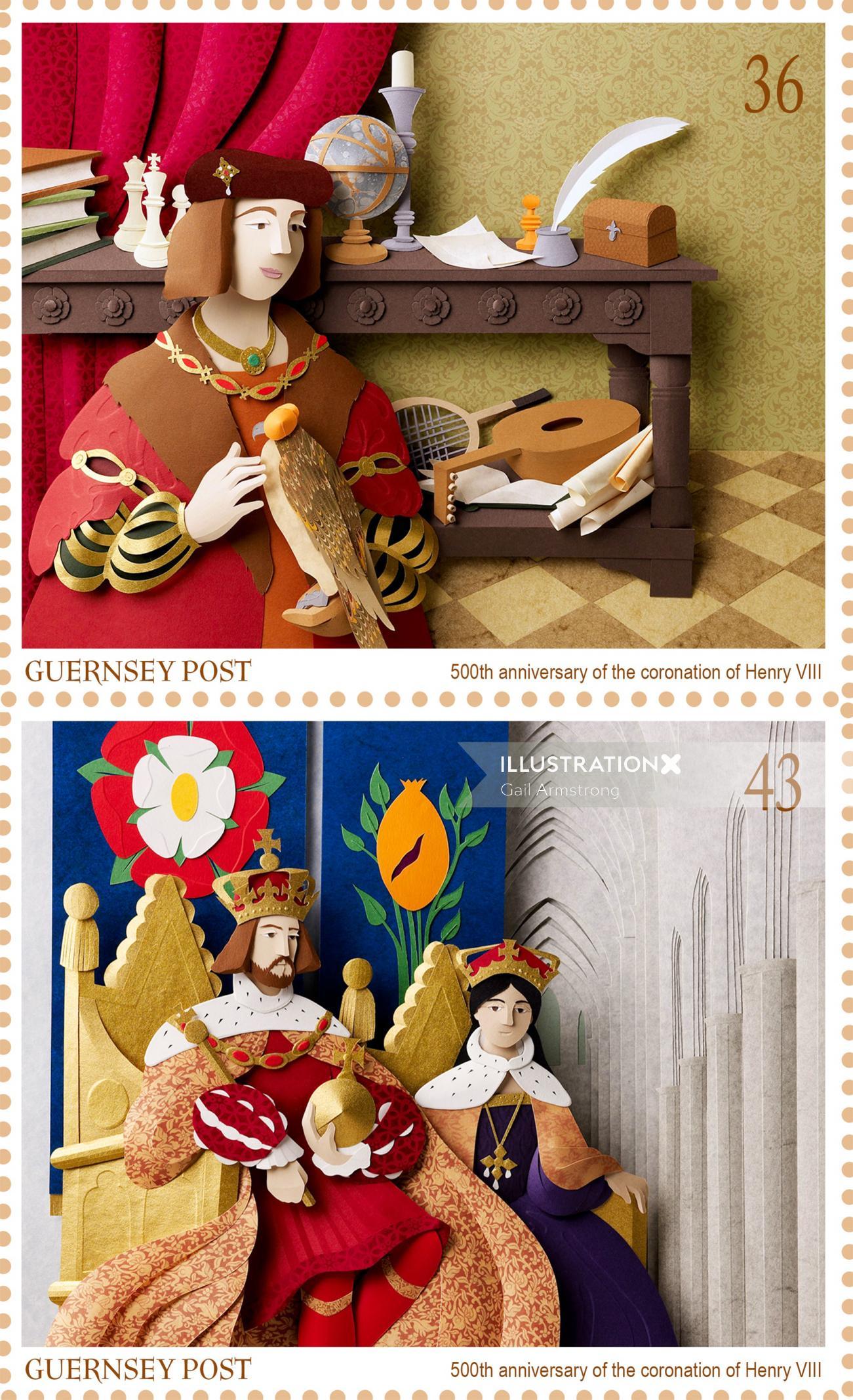 History British royalty coronation