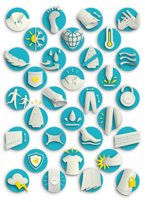 set af smart innovation symbols