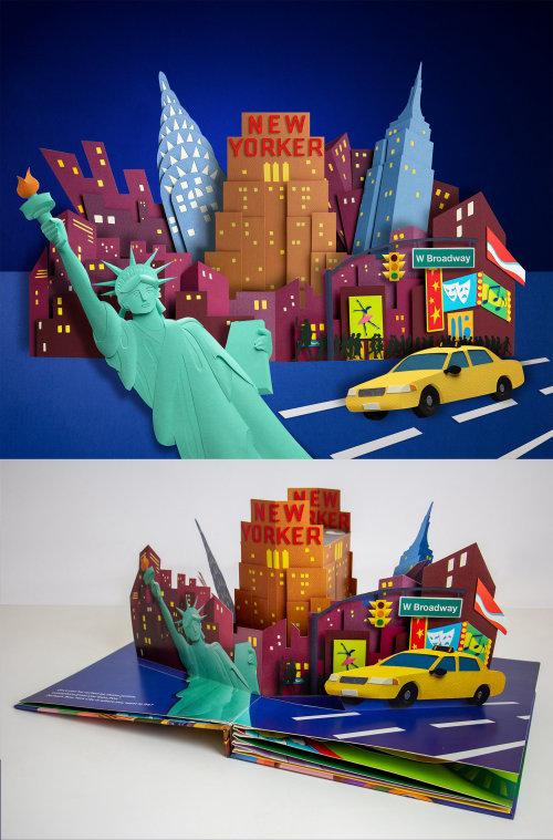 Skyline de New York, État de la Liberté, taxis jaunes et vie nocturne