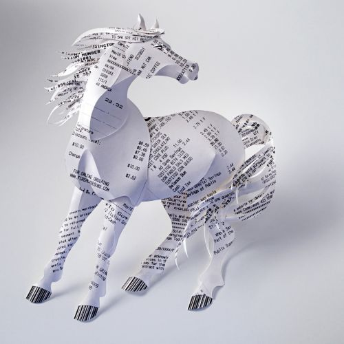 Gail Armstrong International Paper Sculpture illustrator. London