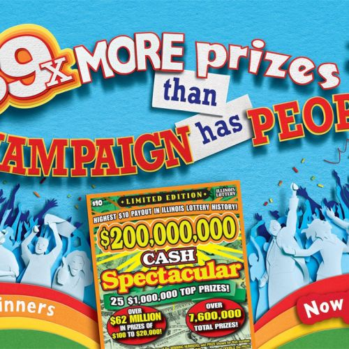 Illinois Lottery 2 billion cash Illustration