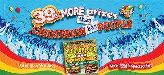 Illinois Lottery 2 billion cash Illustration