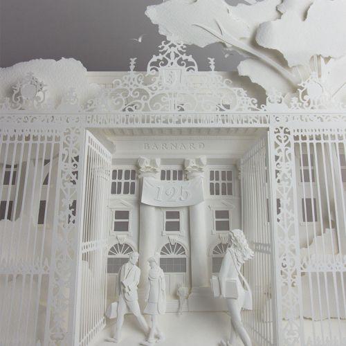 Gail Armstrong International Paper Sculpture illustrator. London