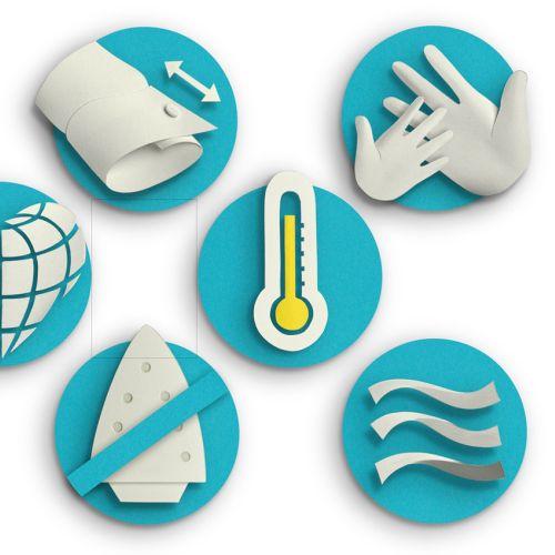 Set of smart innovation icons