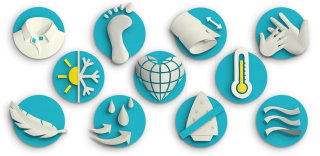 Set of smart innovation icons