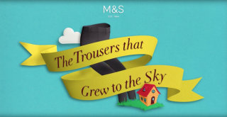 The Trousers That Grew To The Sky