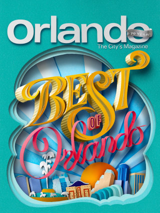Paper Cut Illustration For Best Of Orlando