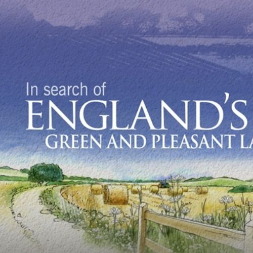 England Green and pleasant land video animation for BBC