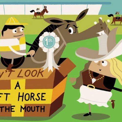 idiom don't look a gift horse