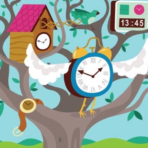 Time flies animation for cambridge english