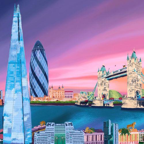 Georgie Stewart Places & Locations Illustrator from United Kingdom