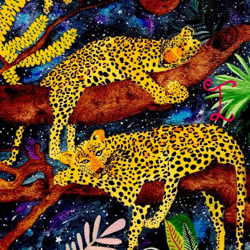 Sleeping Leopards