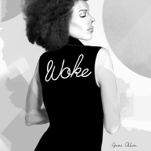 fashion, fashion illustrations, beauty, woke, woke woman, woke lady, black lives matter, black woman