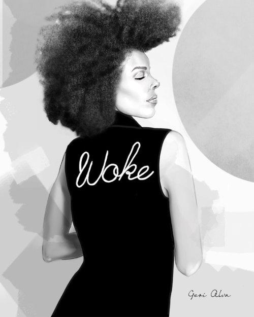 moda, ilustrações de moda, beleza, acordou, acordou mulher, acordou senhora, vida negra importa, mulher negra