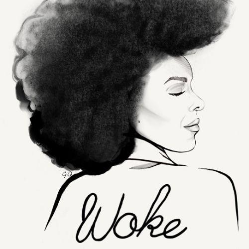 : fashion, fashion illustrations, fashion editorial illustrations, beauty, woke, woke woman, woke la