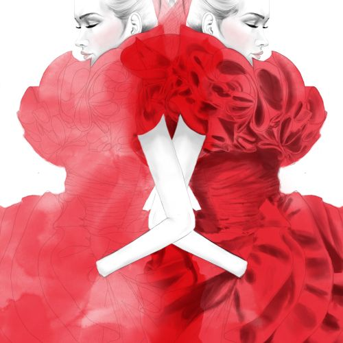 fashion, fashion illustrations, fashion editorial illustrations, editorial photography illustration,