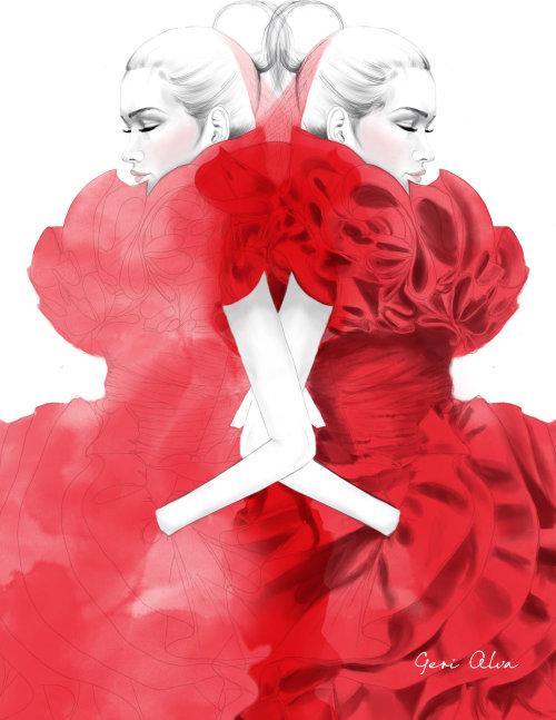 moda, ilustrações de moda, ilustrações editoriais de moda, ilustração de fotografia editorial,