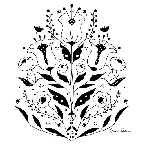 fashion, beauty, nature illustrations, flower illustrations, emblem illustrations, plant illustratio