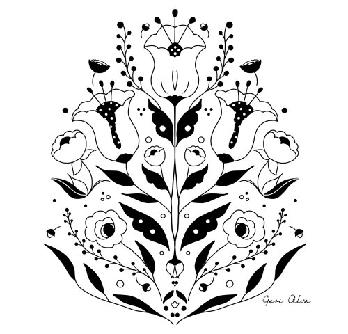 fashion, beauty, nature illustrations, flower illustrations, emblem illustrations, plant illustratio