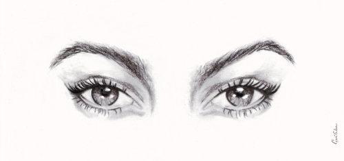 eye wink, eye illustrations, graphite eye illustrations, graphite pencil eye illustrations, eye anim
