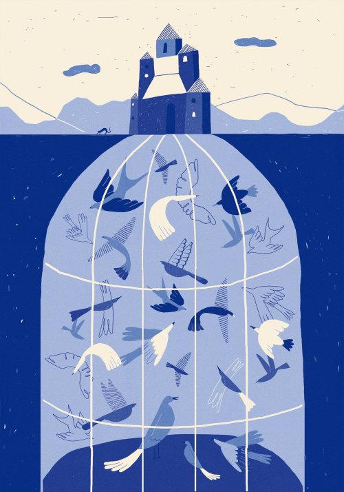 Digital art of Modern Fairy tales