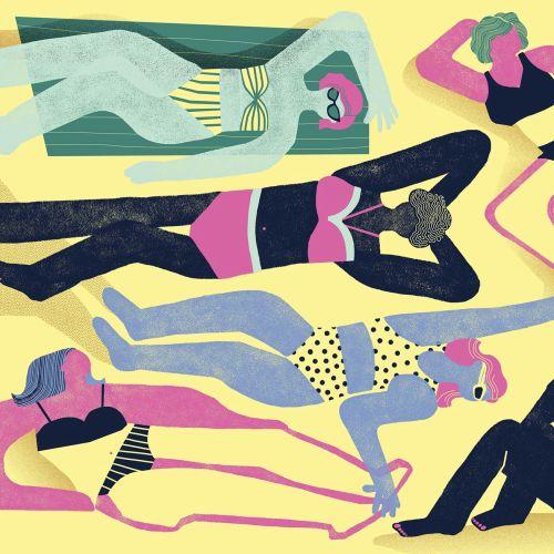 Women in Bikini Fashion