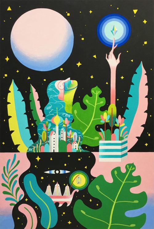 Pintura mural para Co Space