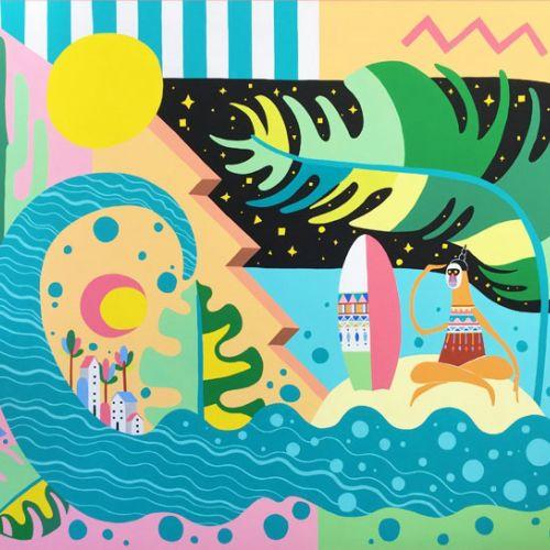 Go Suga Lifestyle Illustrator from Australia