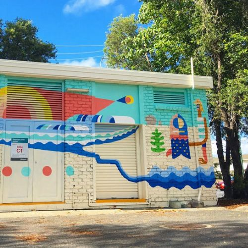 Go Suga Street Art & Mural