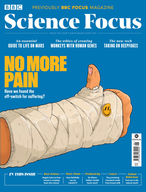 Science focus magazine cover