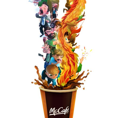 Digital Art Of Mccafe