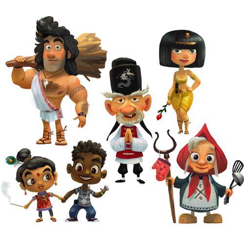 Gordei Diseño de personajes