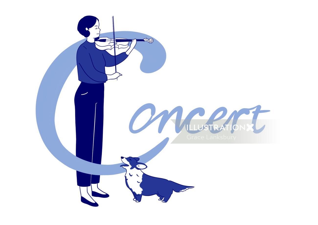 'First Violin'