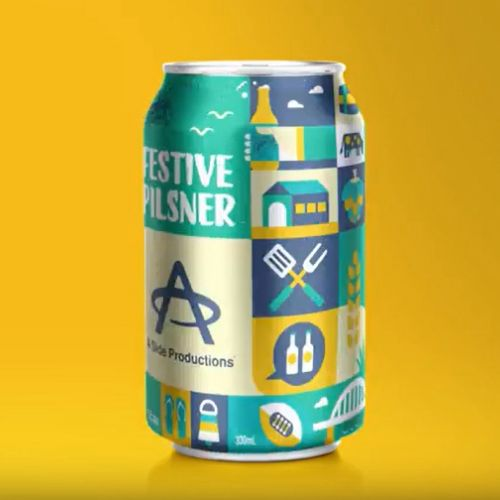 Beer can rotation Animation