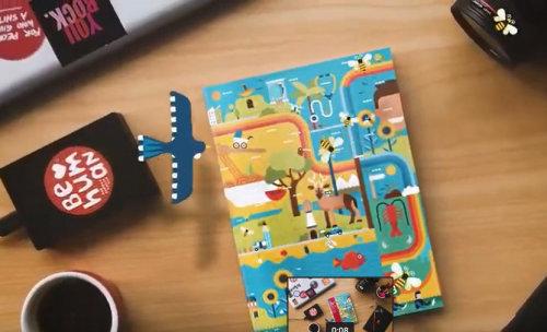 Revista Generosity Magazine Animação