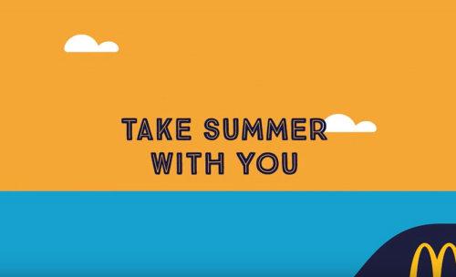 Leve o verão com você por Mcdonald Animation
