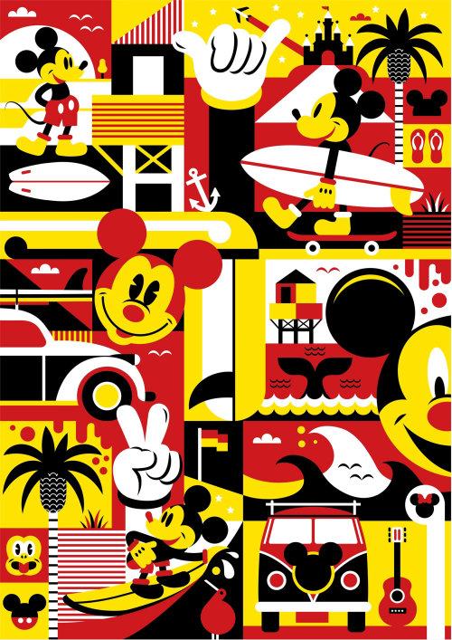 Arte do Mickey Mouse para Eddie Zammit