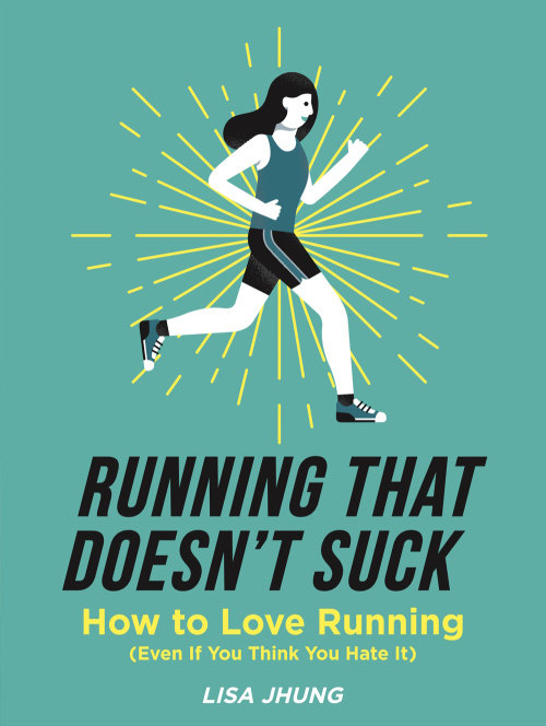 Lettering illustration of Running that Doesn't Suck
