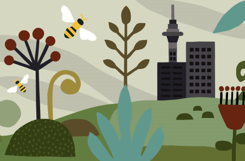 World Bee Day poster art