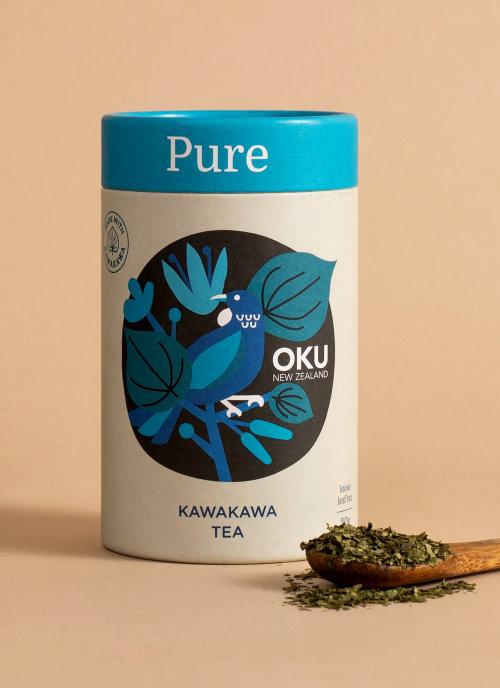 Kawakawa Tea packaging