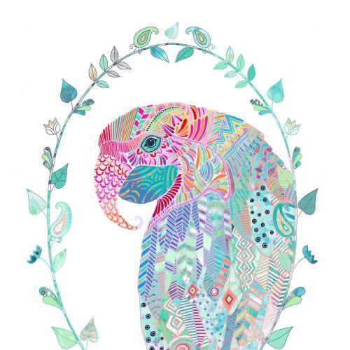Hannah Davies International decorative illustrator. UK